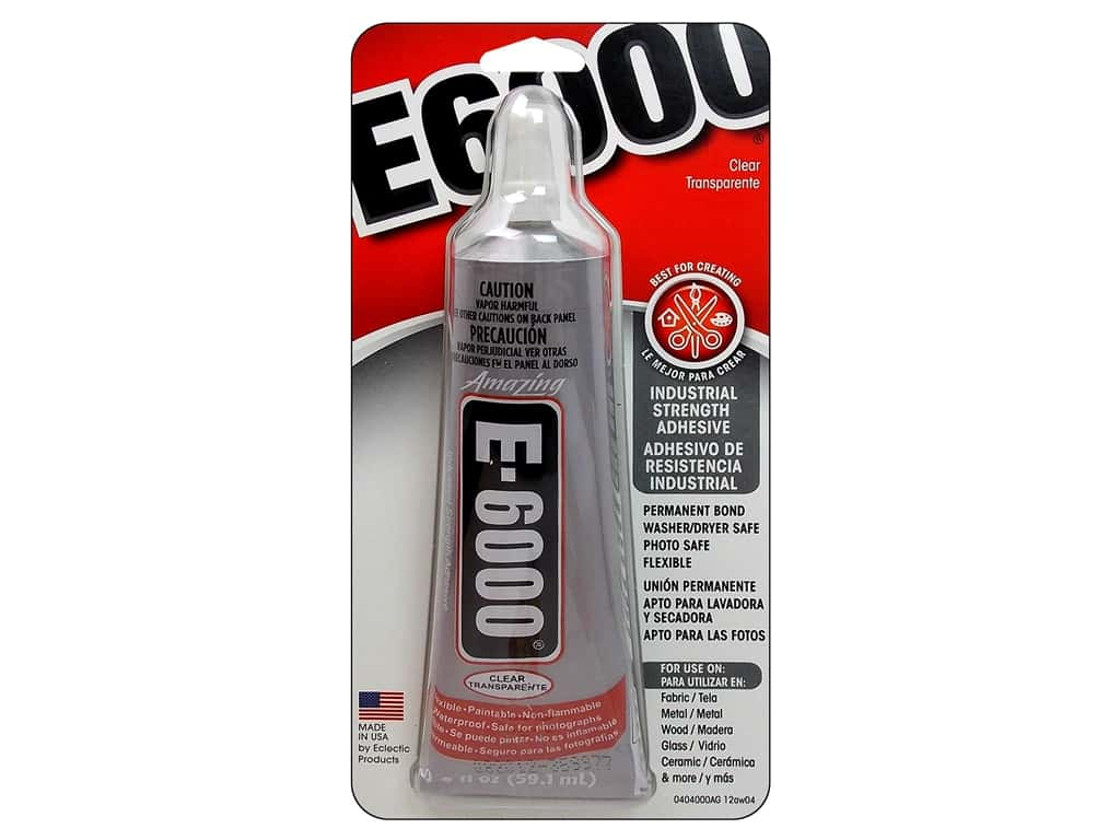 Eclectic E6000 Adhesive 2 oz. Clear