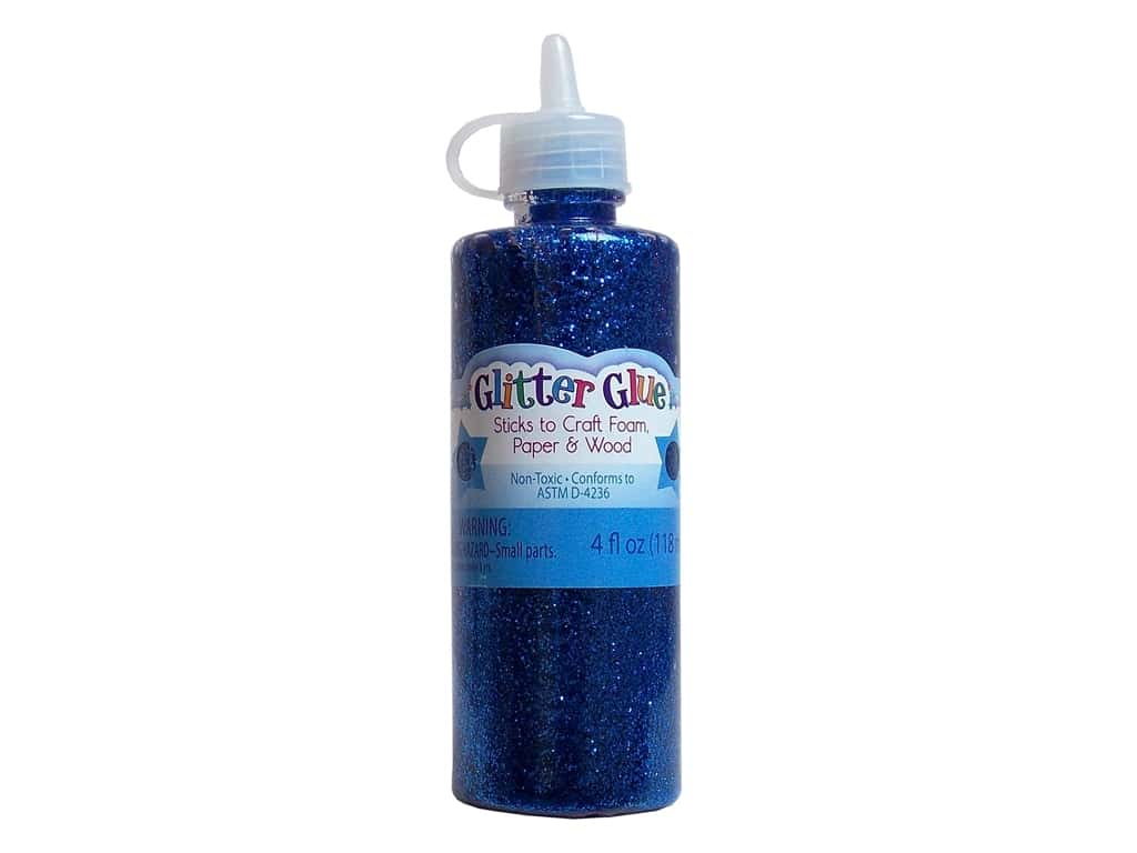 Sulyn Glitter Glue 4 oz. Royal Blue