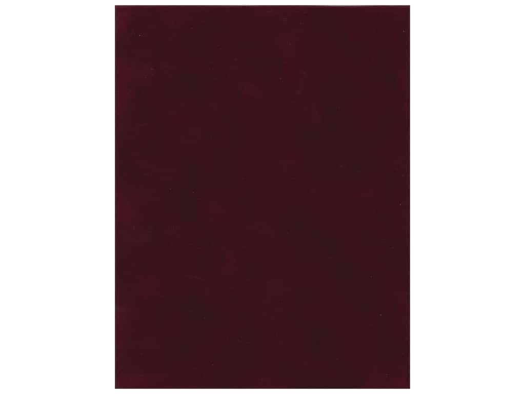SEI Velvet Paper 8 1/2 x 11 in. Burgundy (12 sheets)