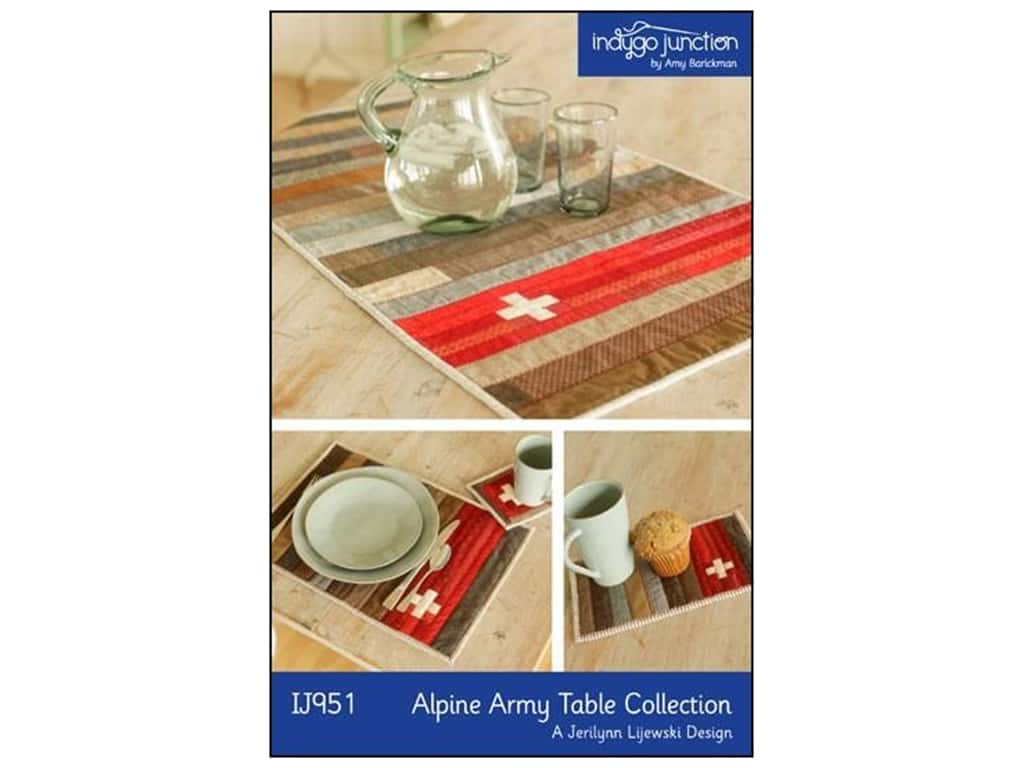 Indygo Junction Patterns - Alpine Army Table Collection