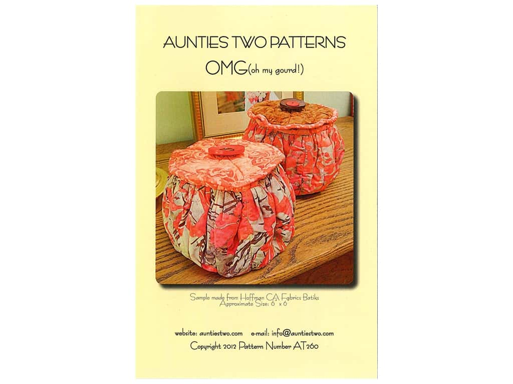 Aunties Two OMG (Oh My Gourd) Pattern