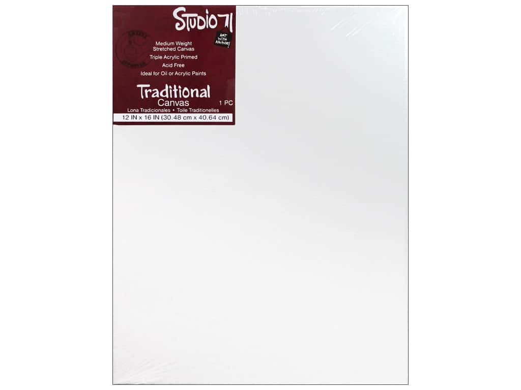 Darice Studio 71 Traditional Canvas 12 x 16 in.