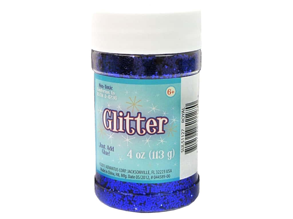 Sulyn Glitter 4 oz. Royal
