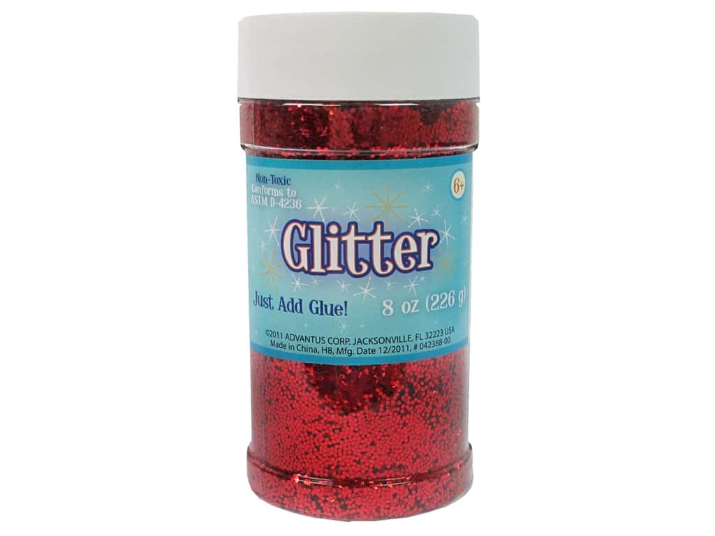 Sulyn Glitter 8 oz. Red