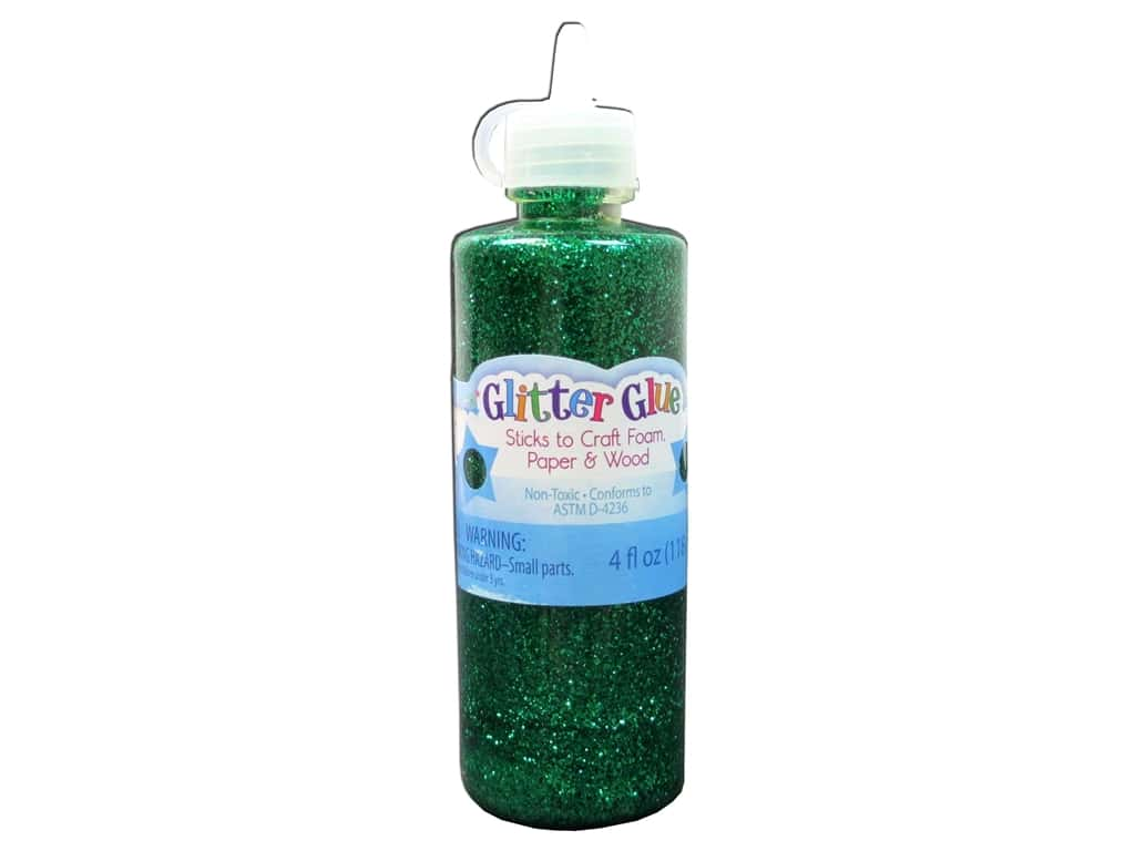 Sulyn Glitter Glue 4 oz. Kelly Green