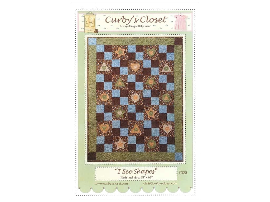 Curby's Closet I See Shapes Pattern