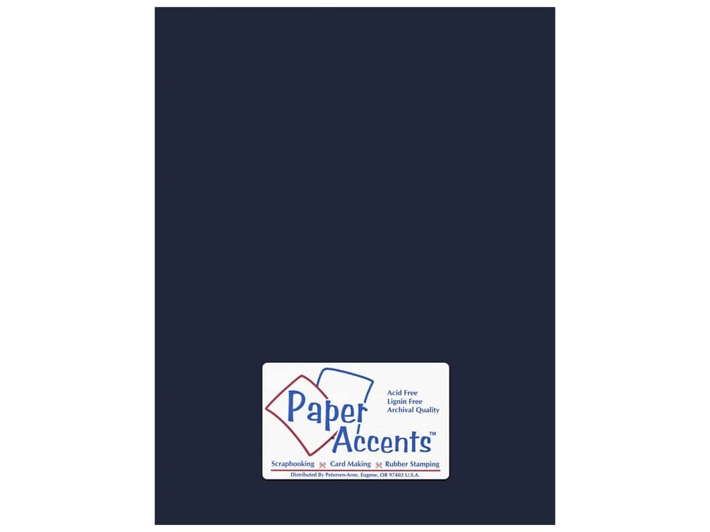 Paper Accents Cardstock 8 1/2 x 11 in. #66 Smooth Goodnight 25 pc.