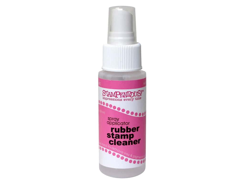Stampendous Rubber Stamp Cleaner and Conditioner Spray 2 oz.