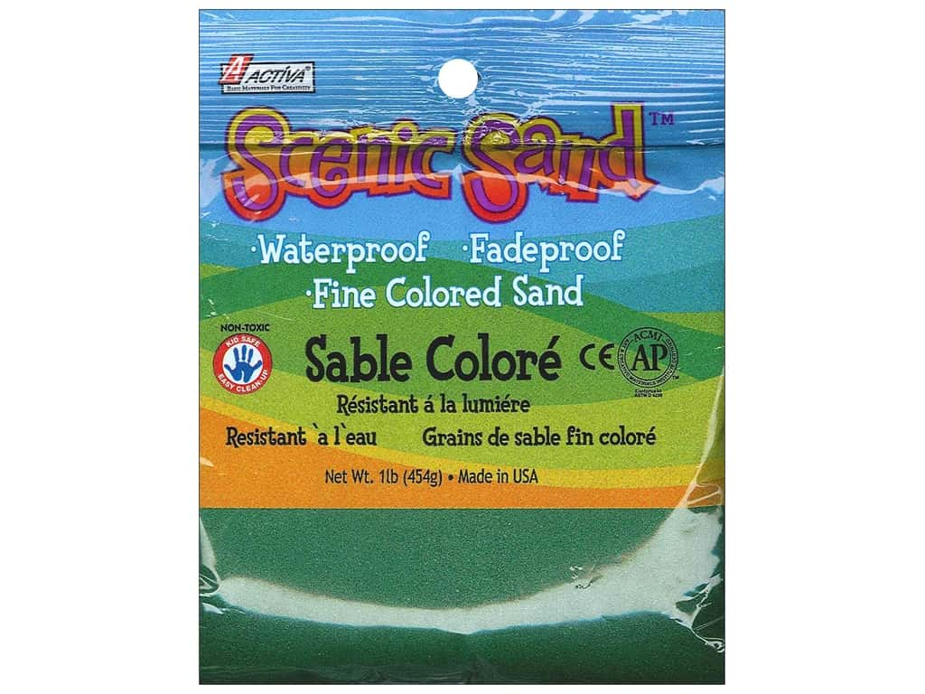 Activa Scenic Sand 1 lb. Forest Green