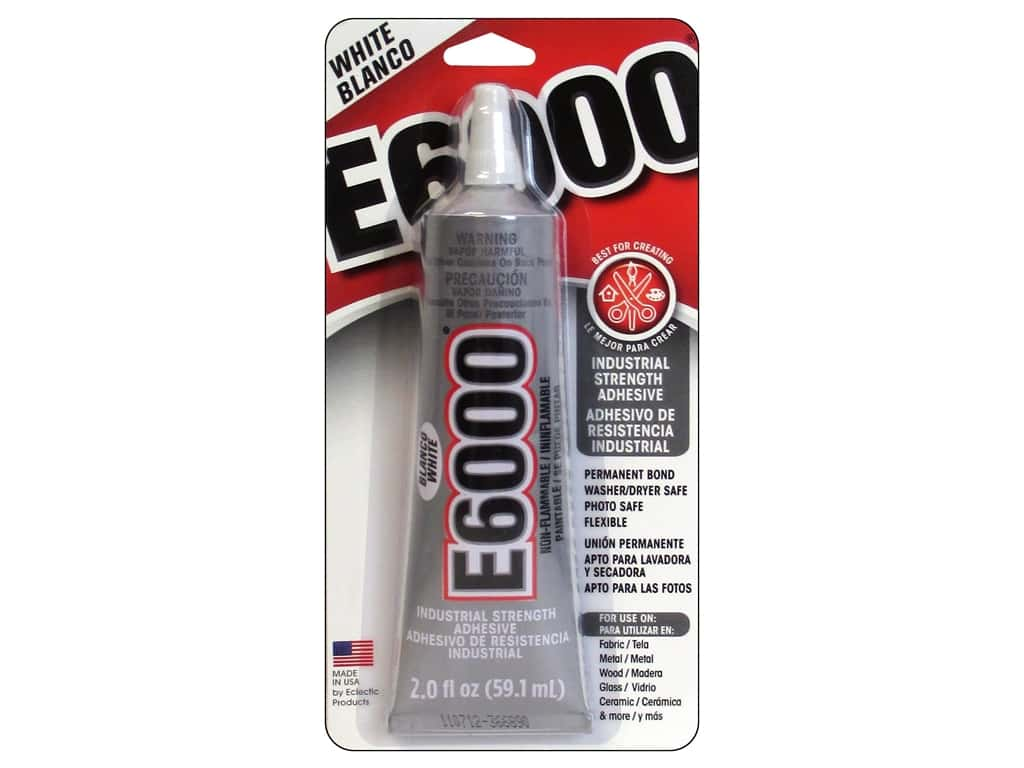 Eclectic E6000 Adhesive 2 oz. White