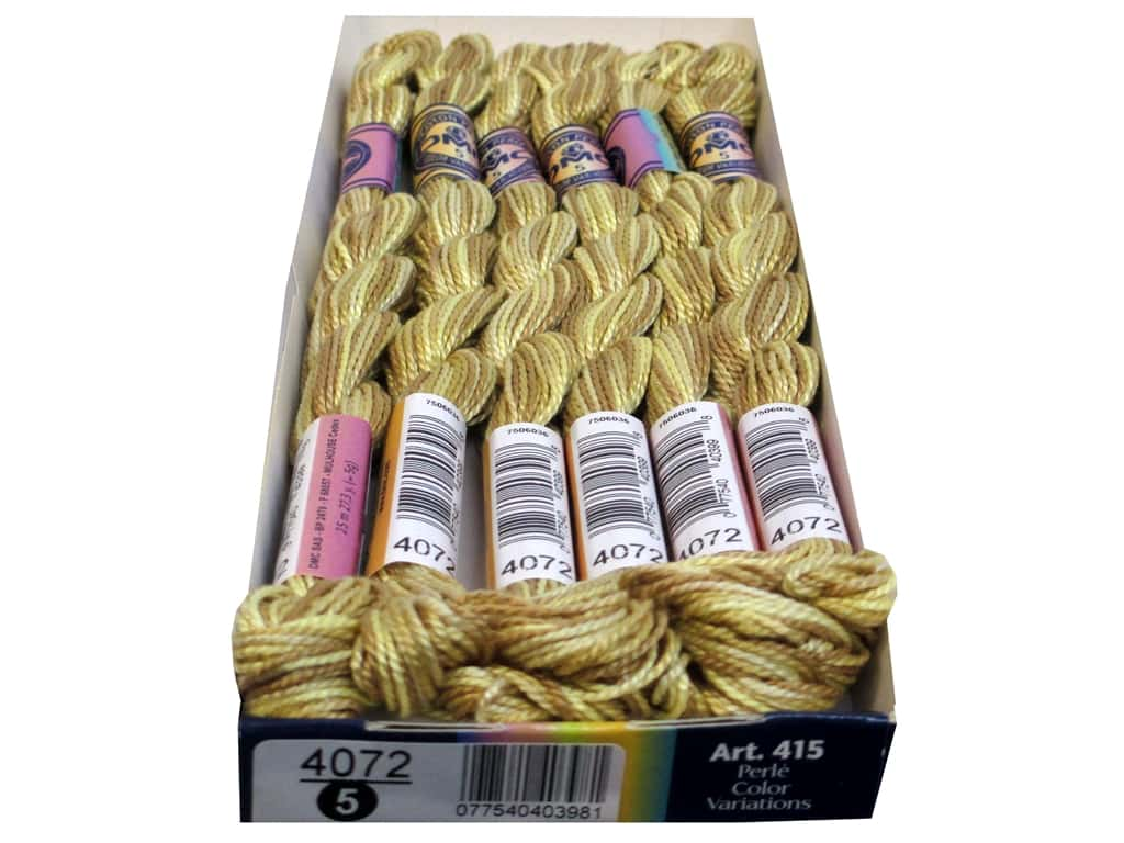 DMC Pearl Cotton Variations Size 5 #4072 Toasted Almond (6 skeins)