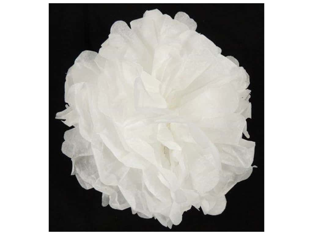 Sierra Pacific Tissue Paper Ball 11 1/2 in. White