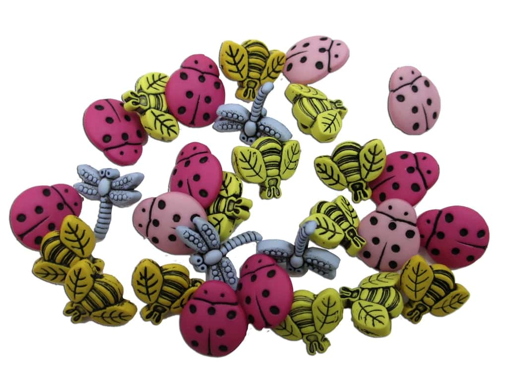 Jesse James Dress It Up Embellishments Tiny Bugs