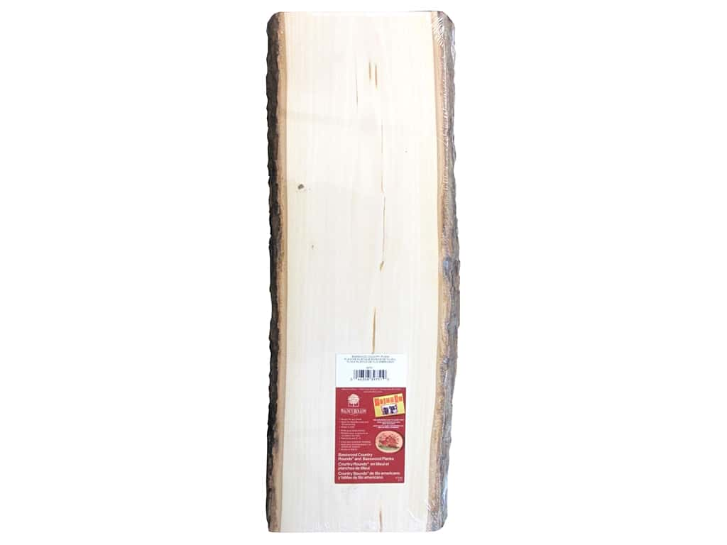 Walnut Hollow Basswood Country Plank 23 in. Extra Large
