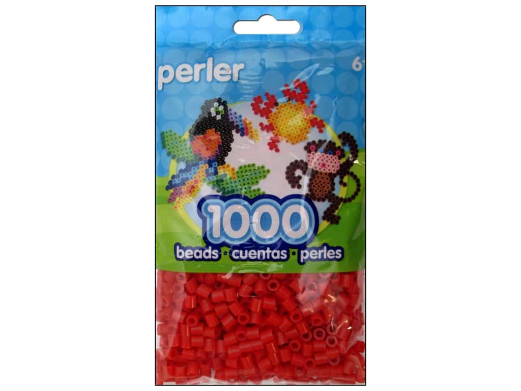 Perler Beads 1000 pc. Red