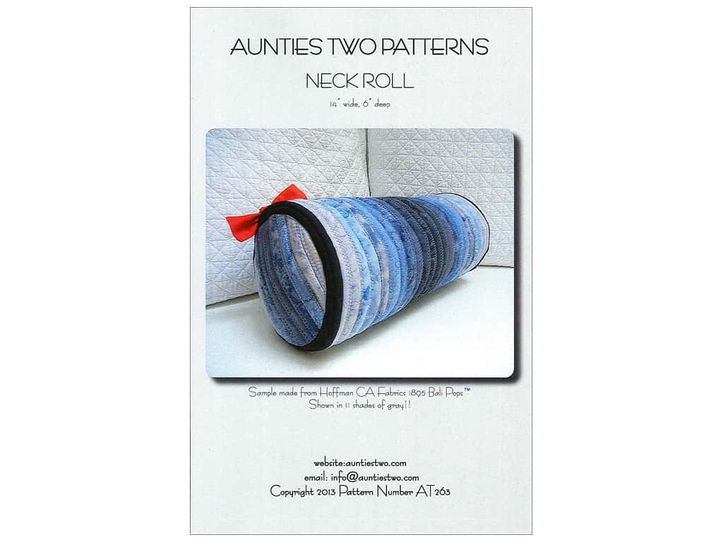Aunties Two Neck Roll Pattern
