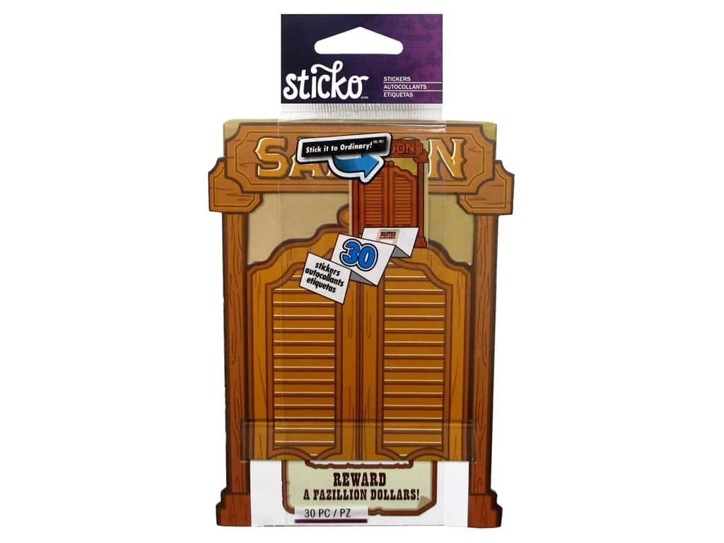 EK Sticko Stickers Wanted Poster Roll