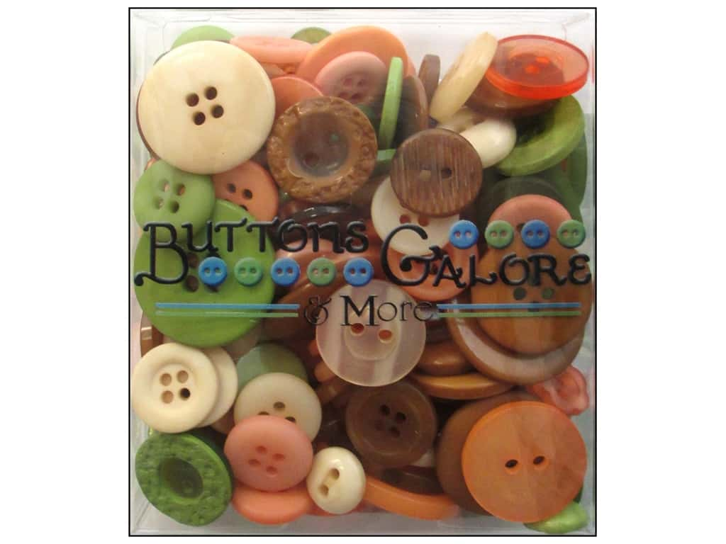 Buttons Galore Button Totes 3.5 oz. Cornucopia
