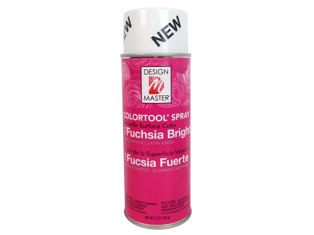 Design Master Colortool Spray Paint 12 oz. #765 Bright Fuchsia