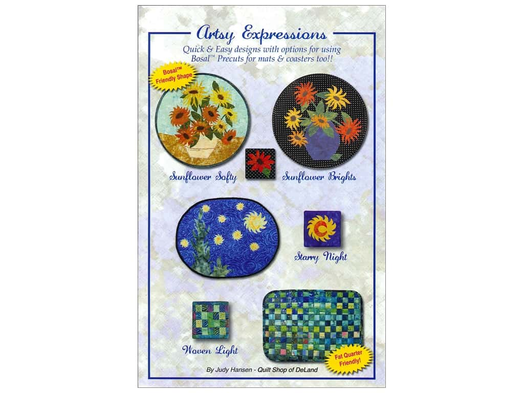 Quilt Shop of DeLand Artsy Expressions Pattern by Judy Hansen
