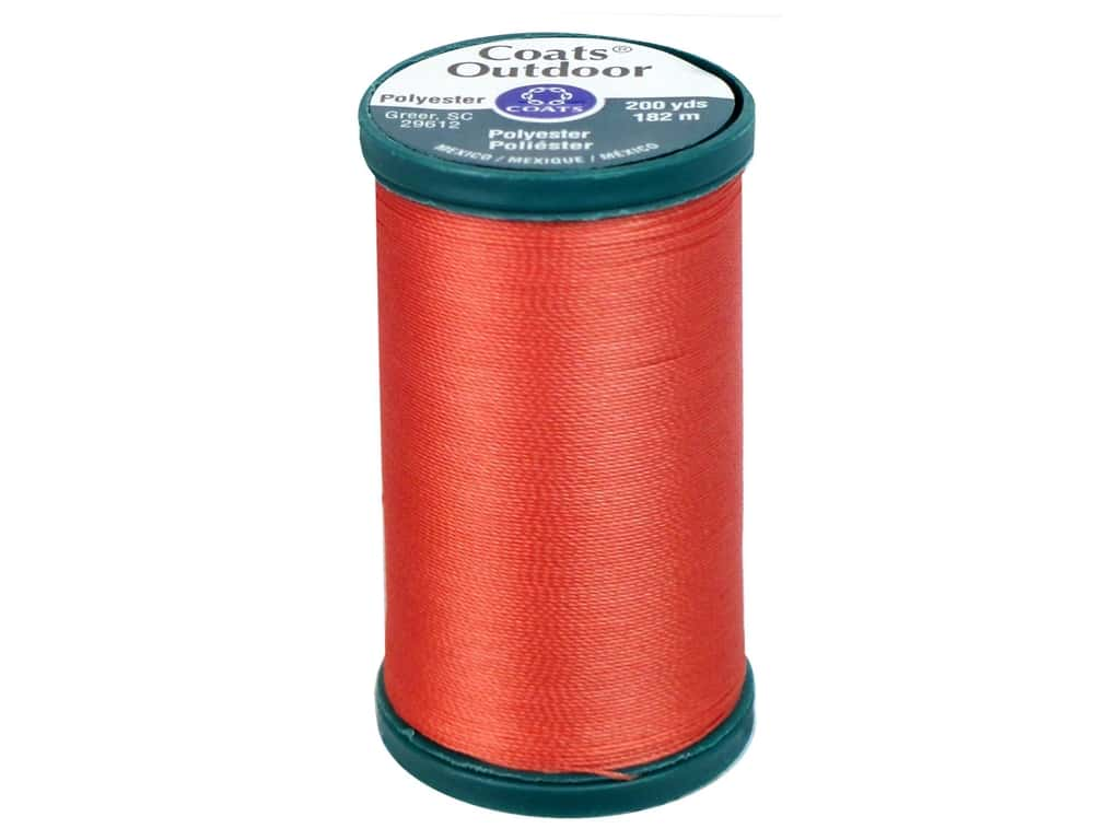 Coats Outdoor Living Thread 200 yd. #108 Coral