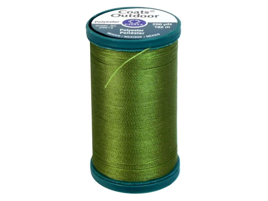 Coats Outdoor Living Thread 200 yd. #524 Chartreuse