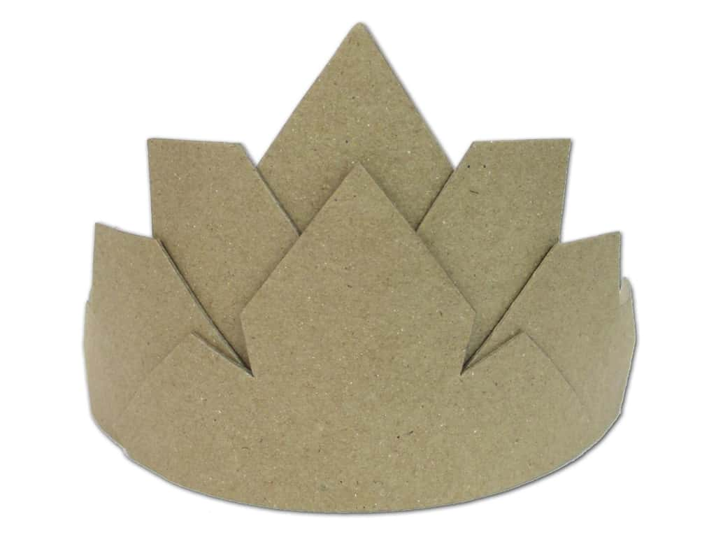 PA Paper Mache Large Crown 6 1/4 in.