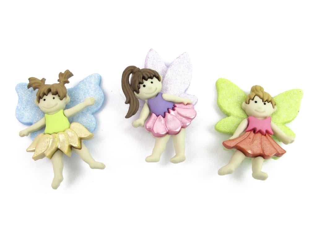 Jesse James Dress It Up Embellishments Flower Fairies