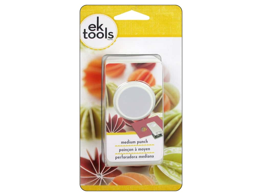 EK Tools Medium Punch - Circle 1 in.