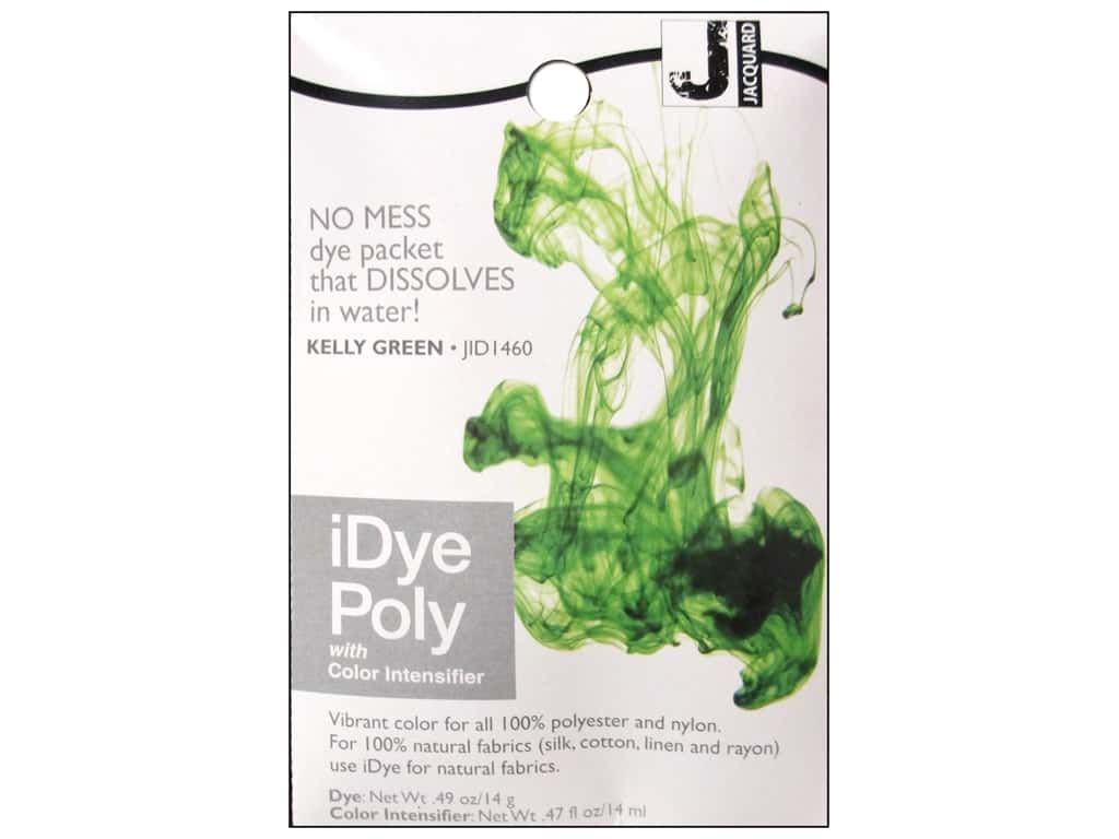 Jacquard iDye Poly Kelly Green
