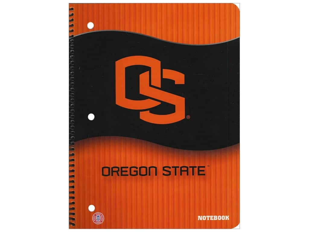 Oregon State Notebook 8 x 10 1/2 in.