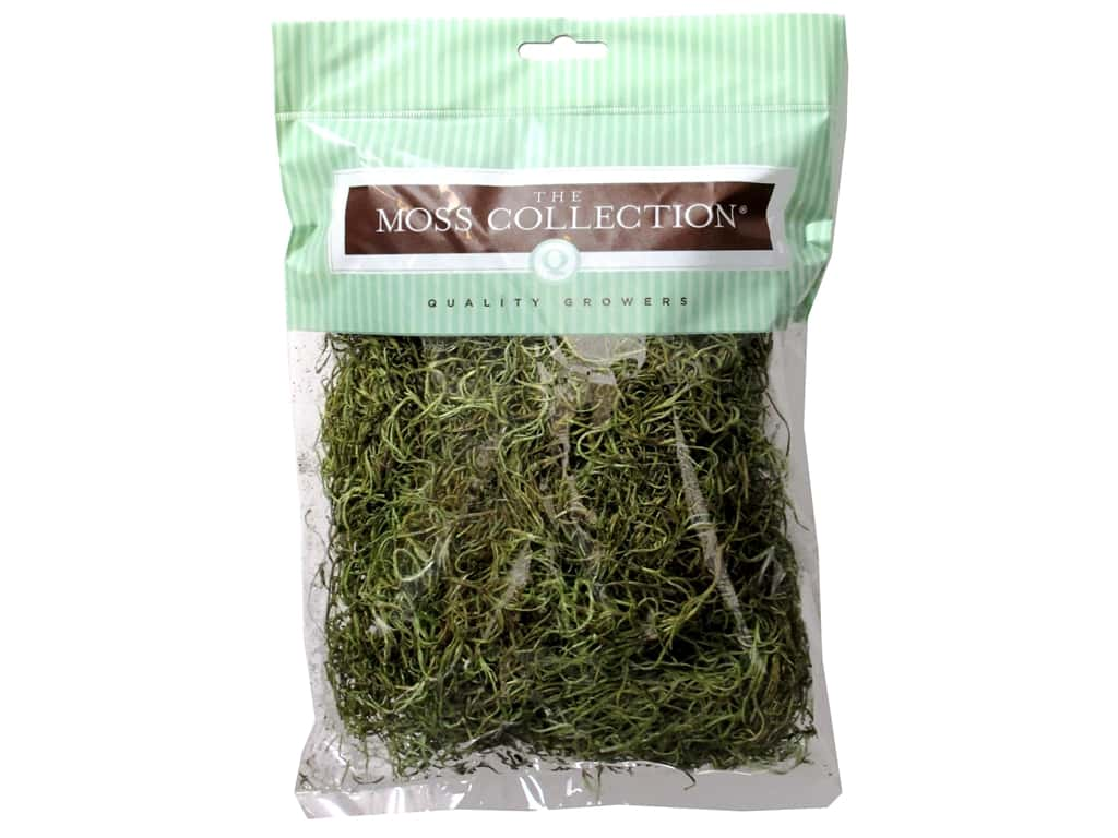 Quality Growers Moss Spanish Dry Moss Bag Small Basil