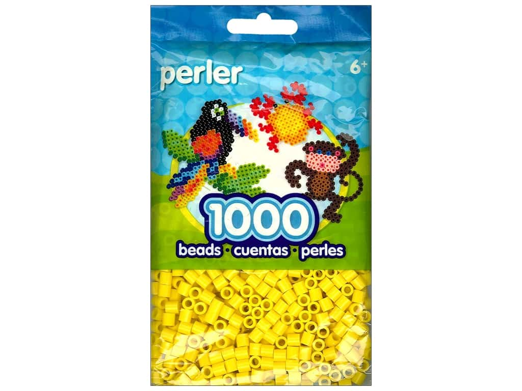 Perler Beads 1000 pc. Yellow
