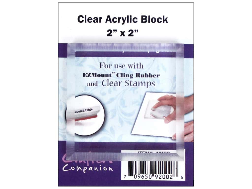 Crafter's Companion Acrylic Block Square 2 x 2 in.