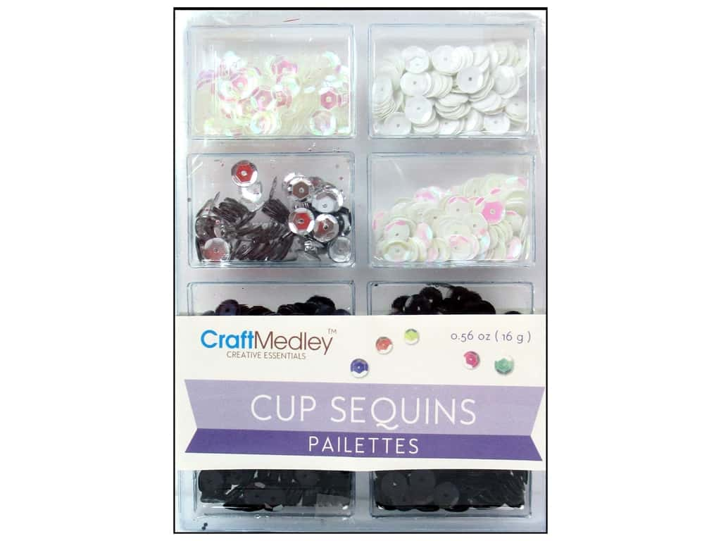 Craft Medley 7 mm Cupped Sequins Classic