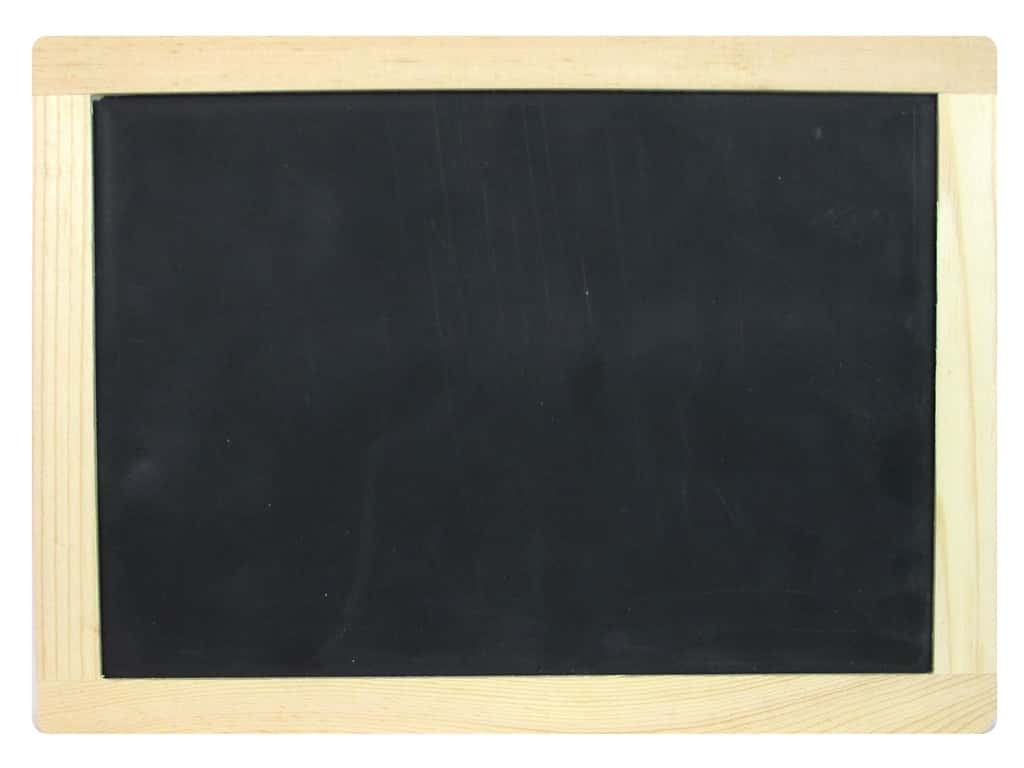 Sierra Pacific Office Chalk Board With Wood Frame 8.5 in. x 11 5/8 in.