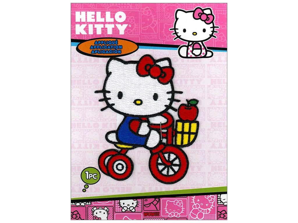 C&D Visionary Applique Hello Kitty Tricycle Apple