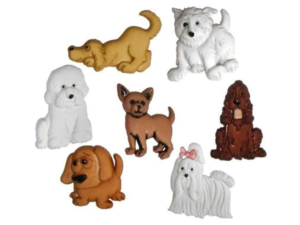 Jesse James Dress It Up Embellishments Puppy Parade