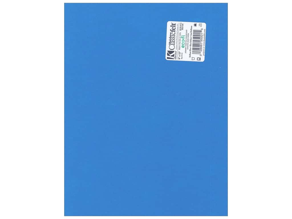Kunin Felt 9 x 12 in. Brilliant Blue (24 sheets)