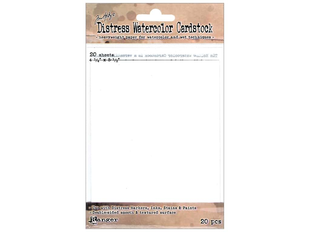 Ranger Tim Holtz Distress Watercolor Cardstock 20 pc.