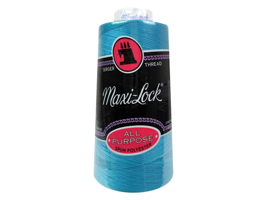 Maxi-Lock Serger Thread 3000 yd. #4665 Radiant Turquoise