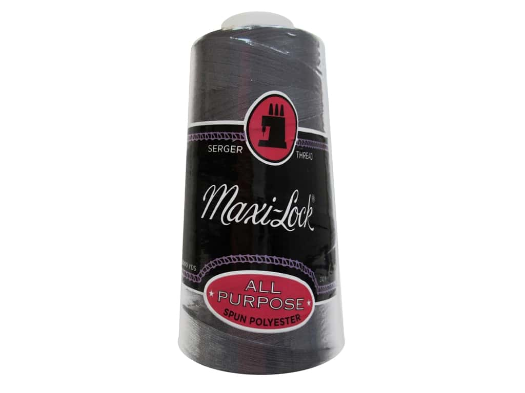 Maxi-Lock Serger Thread 3000 yd. #8188 Dark Grey