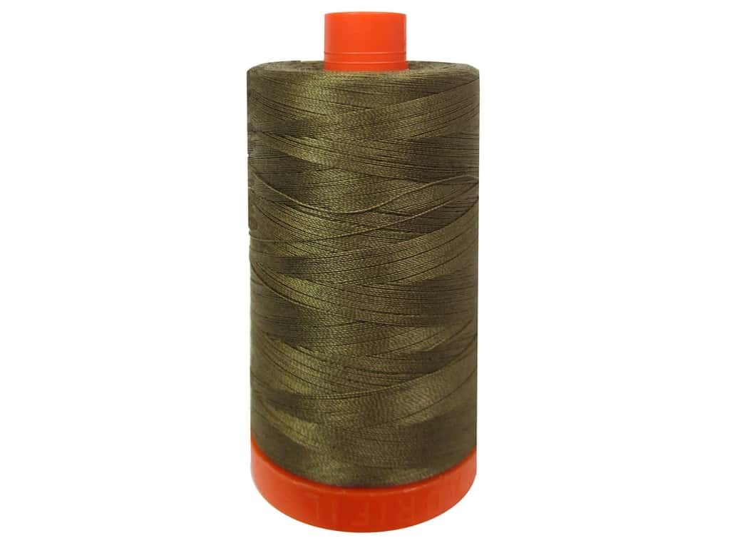 Aurifil Mako Cotton Quilting Thread 50 wt. #1318 Dark Sandstone 1420 yd.
