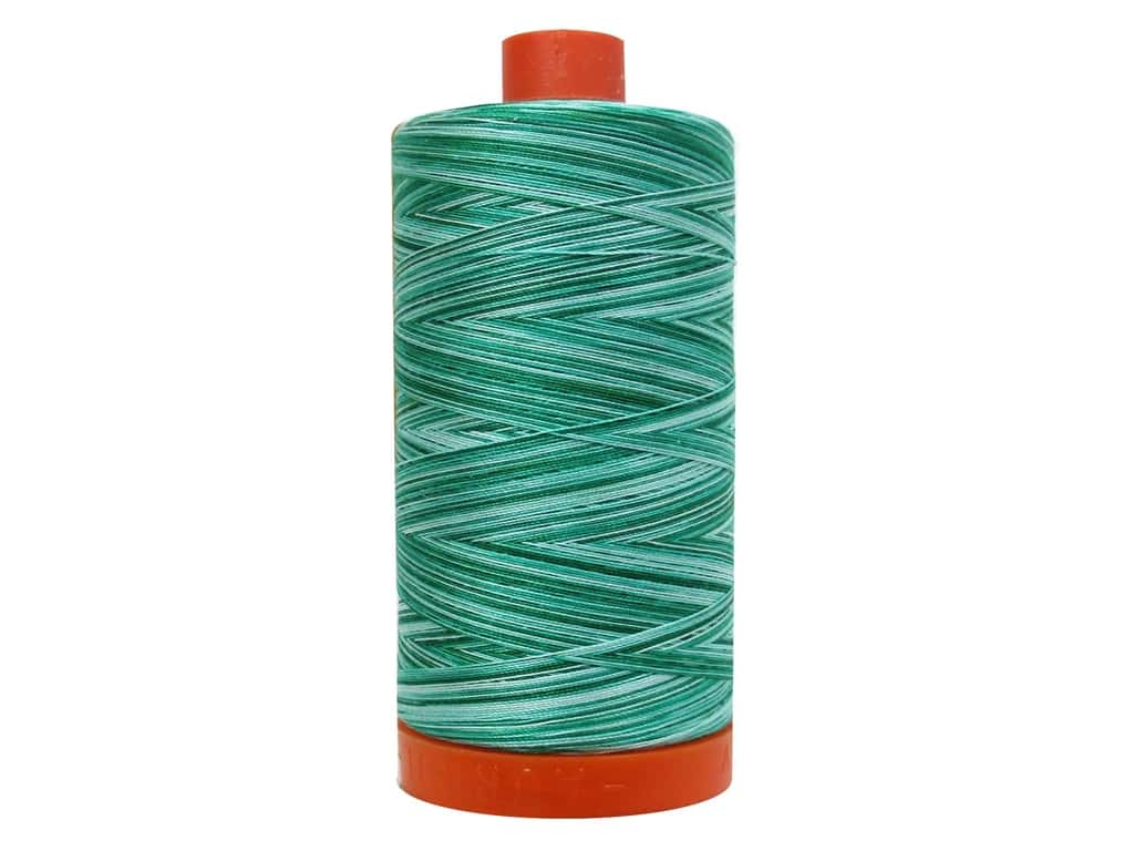 Aurifil Mako Cotton Quilting Thread 50 wt. #4662 Variegated Spotted