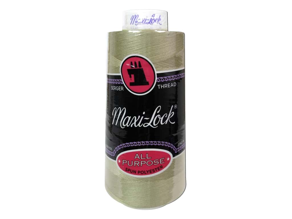 Maxi-Lock Serger Thread 3000 yd. #32365 Khaki