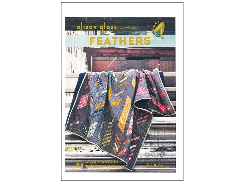 Alison Glass Feathers Quilt Pattern