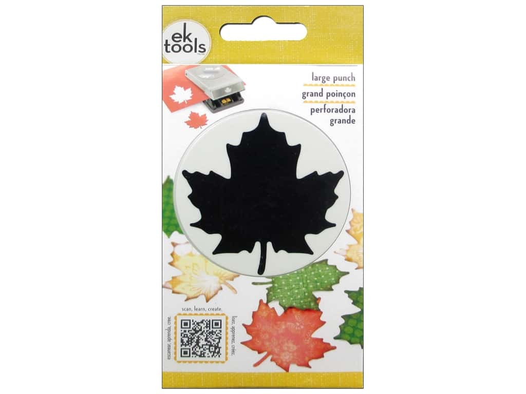 EK Success Large Punch Maple Leaf 2 3/8 in.