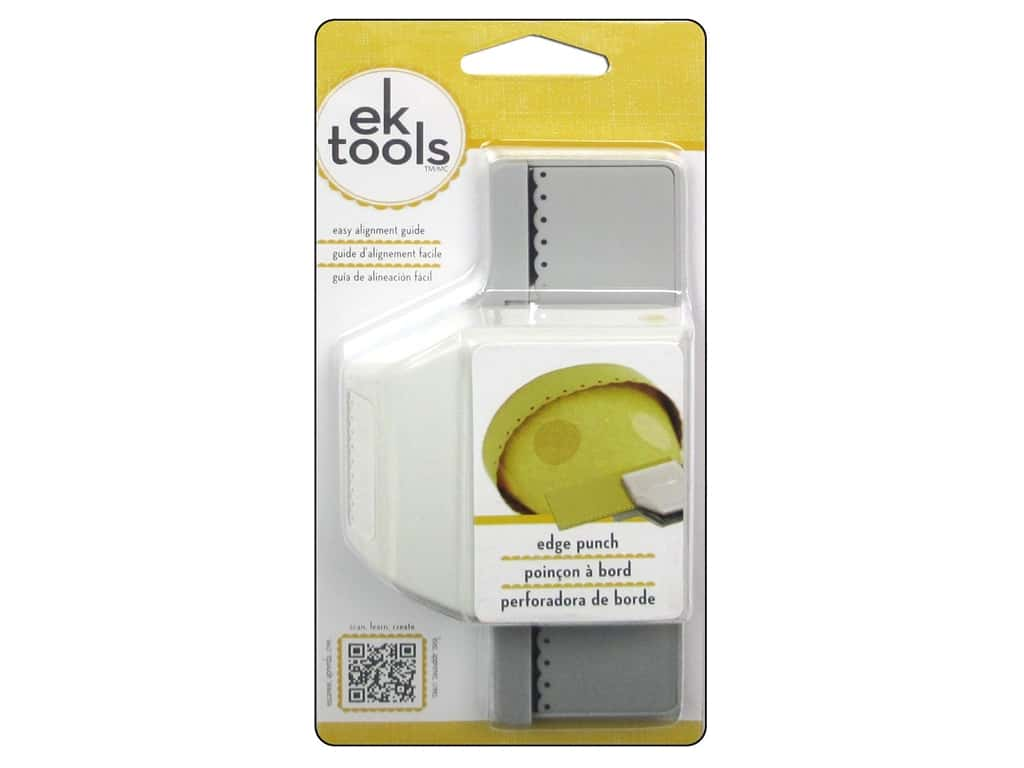 EK Tools Edge Punch - Dotted Scallop