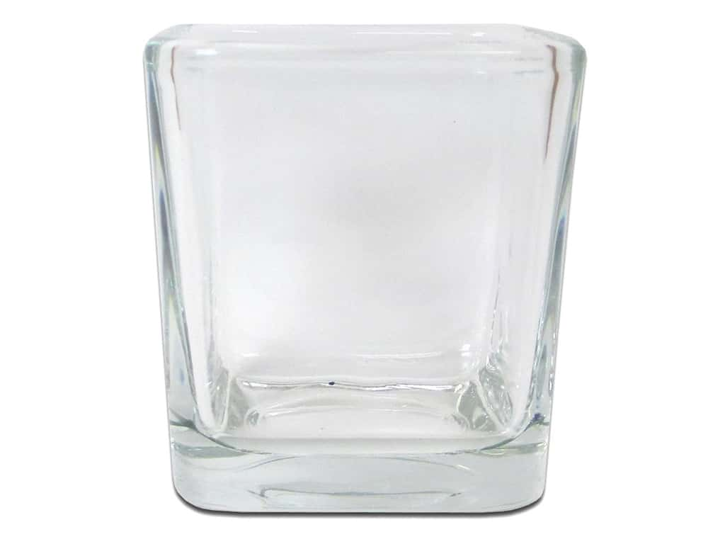 Crisa by Libbey Glass Small Votive Cube 3 in. (12 pieces)