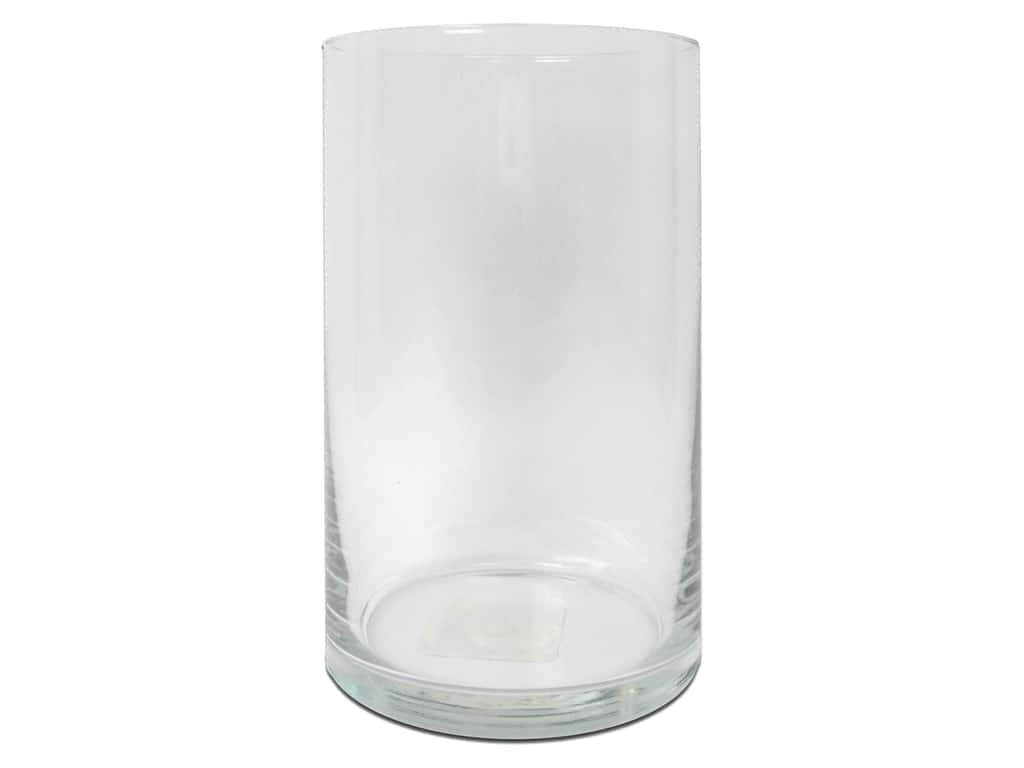 Crisa by Libbey Glass Floral Cylinder 6 in. (12 pieces)